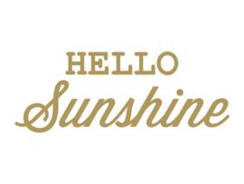 Dreams Sticker Hello Sunshine Goud