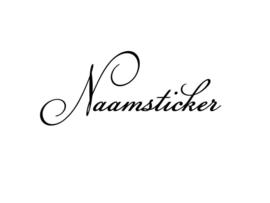 LUXE NAAMSTICKER