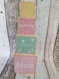 Little Dutch stapelblokken met naam
