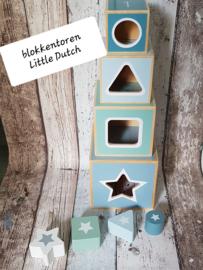Stapelblokken Little Dutch met naam