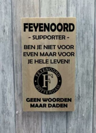 Feyenoord bord supporter