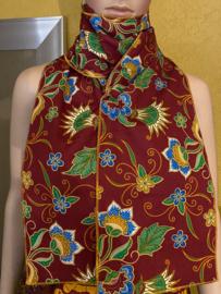 Batik Sjaal Maroon