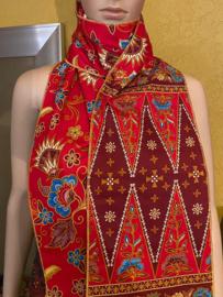 Batik Sjaal Merah
