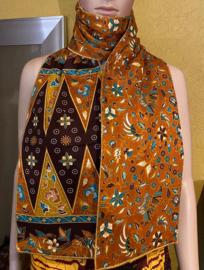 Batik Sjaal Coklat