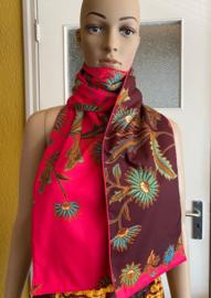 Batik Sjaal 3 Laags