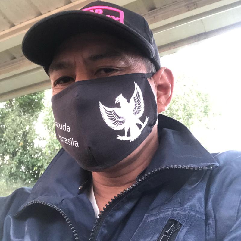 Garuda Face Mask