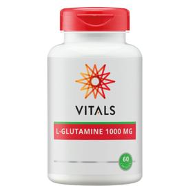 Vitals L-GLUTAMINE 1000 MG 60 CAPSULES