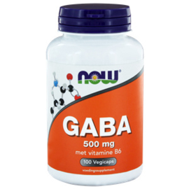 NOW GABA 500 mg 100 vcaps