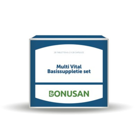 Bonusan Multi Vital Basissuppletie set (0691)