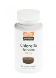 Mattisson Healthcare - Chlorella & Spirulina