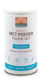 Mattisson MCT Poeder Coconut Pure