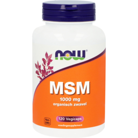 NOW MSM 1000 mg 120 Capsules