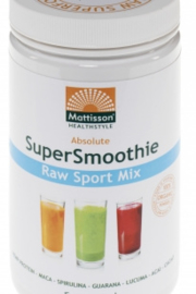 Mattisson Healthcare - Absolute Supersmoothie Sport Mix Bio