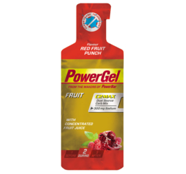PowerBar PowerGel Fruit - red fruit punch