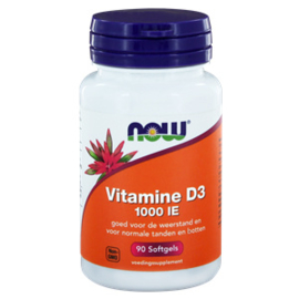 NOW Vitamine D3 1000 IE