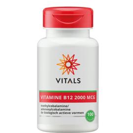 Vitals VITAMINE B12 2000 MCG 100 ZUIGTABLETTEN
