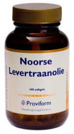 Proviform Noorse Levertraanolie en vitamine D3