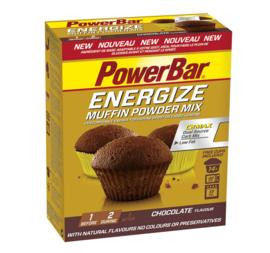 PowerBar Energize Muffin Powder Mix - chocolade, caramel vanille