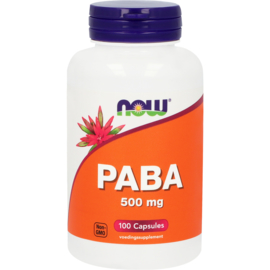 NOW PABA 500 mg 100 Capsules