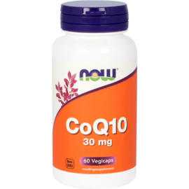 Now CoQ10 30 mg 60 Capsules