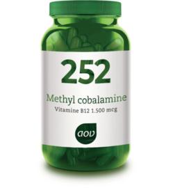 AOV 252 Methylcobalamine (1.500 mcg) 60 vcaps