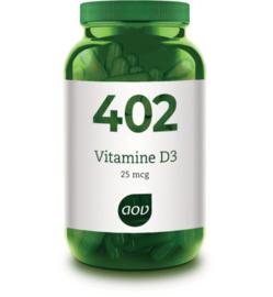 AOV 402 Vitamine D3 25 mcg 60 Capsules