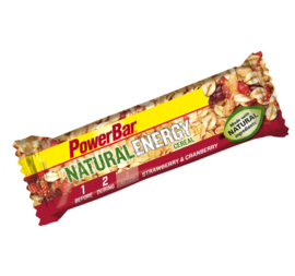 Powerbar Natural Energy Fruit & Nut bar Cranberry/ Apple Strudel