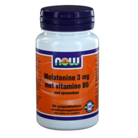 NOW Melatonine met Vitamine B6