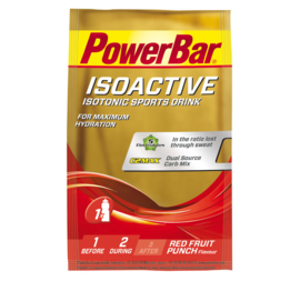Powerbar Isoactive - 20x33gr red fruits