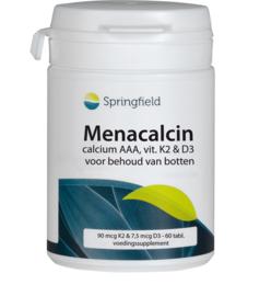 Springfield Menacalcin Calcium AAA met vitamine K2 en D3