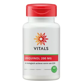 Vitals UBIQUINOL 200 MG 60 SOFTGELS