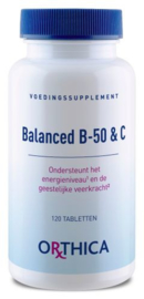 Orthica Balanced B-50 en vitamine C