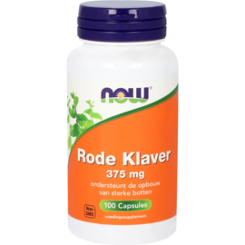 NOW Rode Klaver 375 mg 100 Capsules