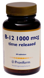 Proviform Vitamine B12 1000 mcg Time Released