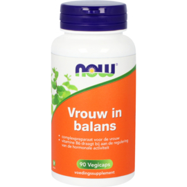 NOW Vrouw in Balans 100 Softgels