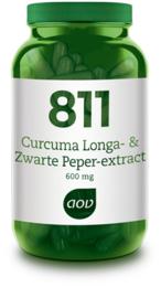 AOV 811 Curcuma Longa- & Zwarte peper-extract 60 Capsules