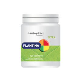 Plantina N-acetylcysteïne NAC 120 Tabletten