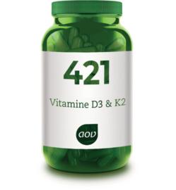 AOV 421 Vitamine D3 & K2 60 vcaps