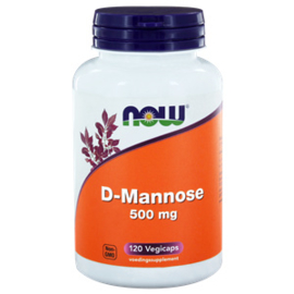 NOW D-Mannose 500 mg 120 vcaps