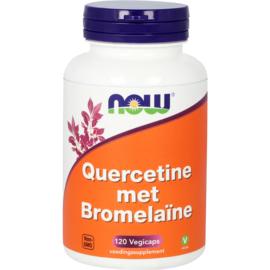 NOW Quercetine met Bromelaïne 120 vcaps