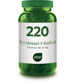 AOV 220 Pyridoxaal-5-fosfaat 60 capsules