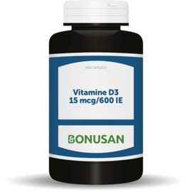 Bonusan Vitamine D3 15 mcg 600 IE (0928/0927) 90/ 300 Softgels