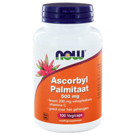 Now  Ascorbyl Palmitaat 500 mg 100 vcaps