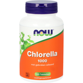 NOW Chlorella 1000 mg 120 Tabletten