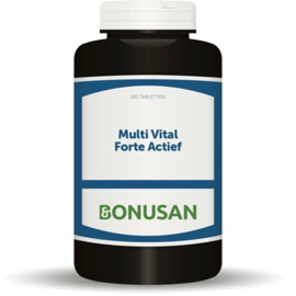 Bonusan Multi Vital Forte actief 60/180 tabletten (0737/0733)