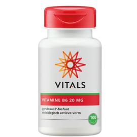 Vitals VITAMINE B6 20 MG 100 CAPSULES