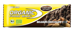 Organic Food Bar Active Greens Belgium Chocolate Chip