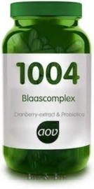 AOV 1004 Cranberry- en probioticumcomplex 60 capsules