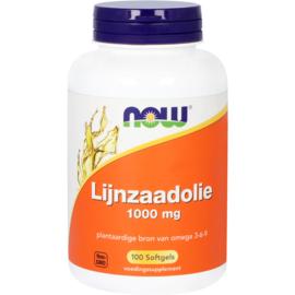 NOW Lijnzaadolie 1000 mg 100 Softgels