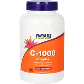 NOW vitamine C-1000 Complex 90/180 Tabletten